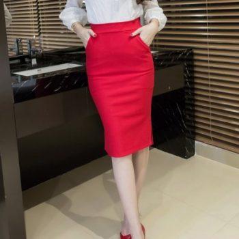 Fusta Ladys Red