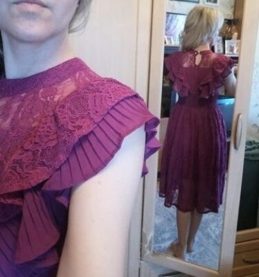 Rochie Anabela Purple photo review
