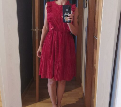 Rochie Dots Red photo review