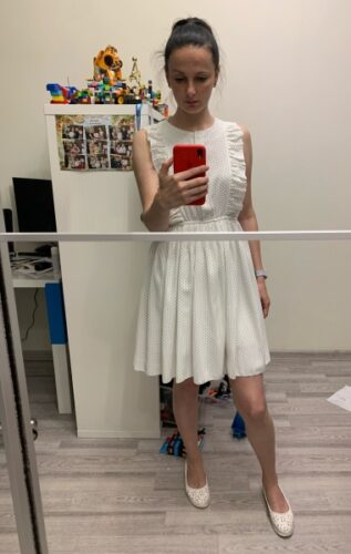 Rochie Dots White photo review