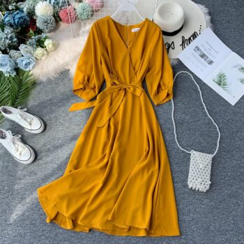 Rochie Dolores Yellow